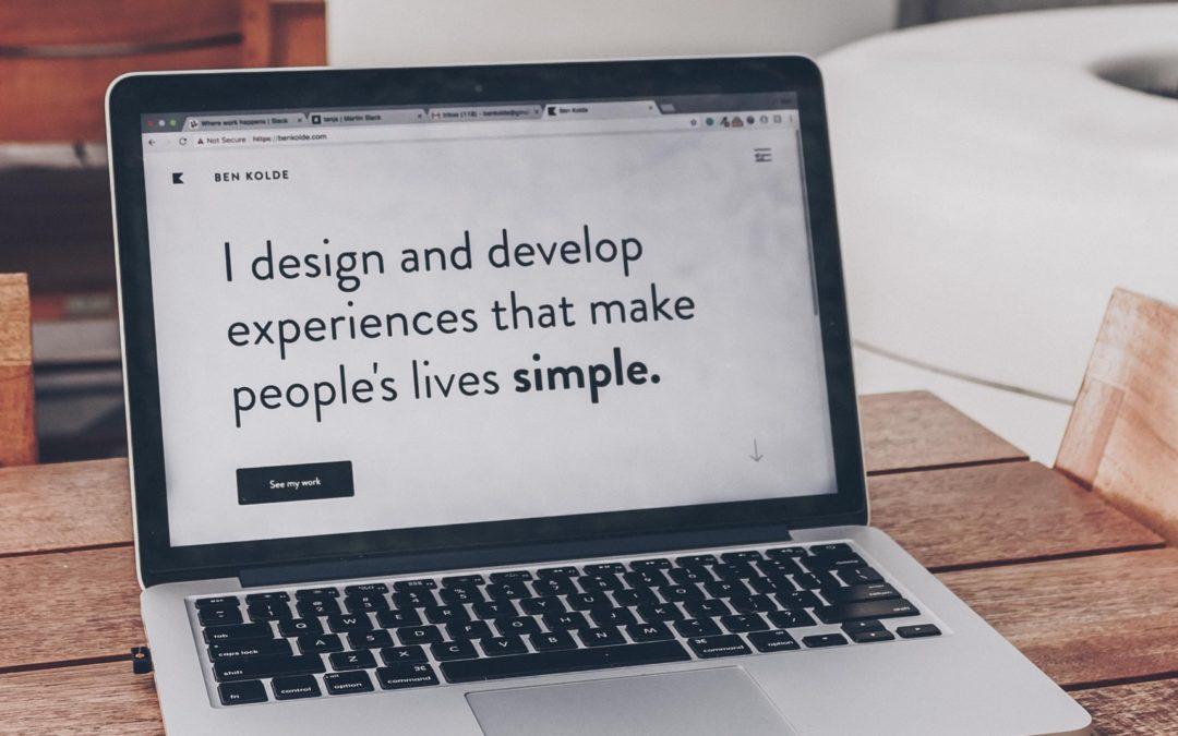 website design website footer