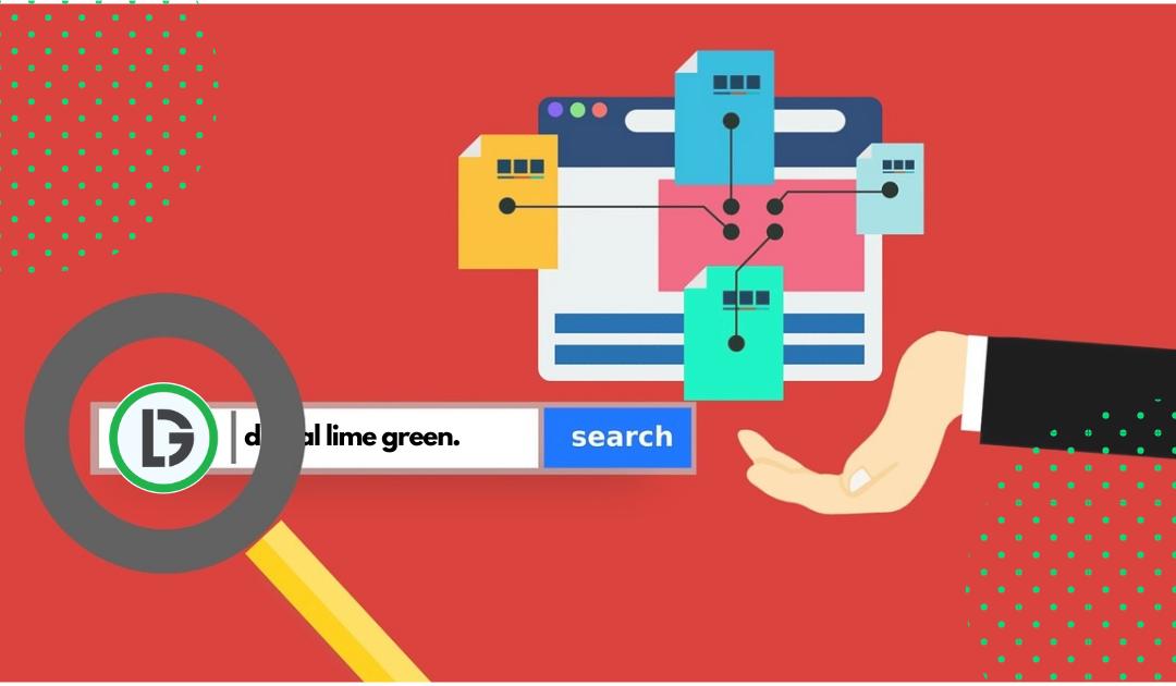 Digital Lime Green website navigation effective