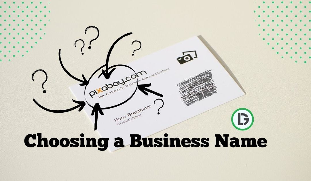 choosing a business name in south africa
