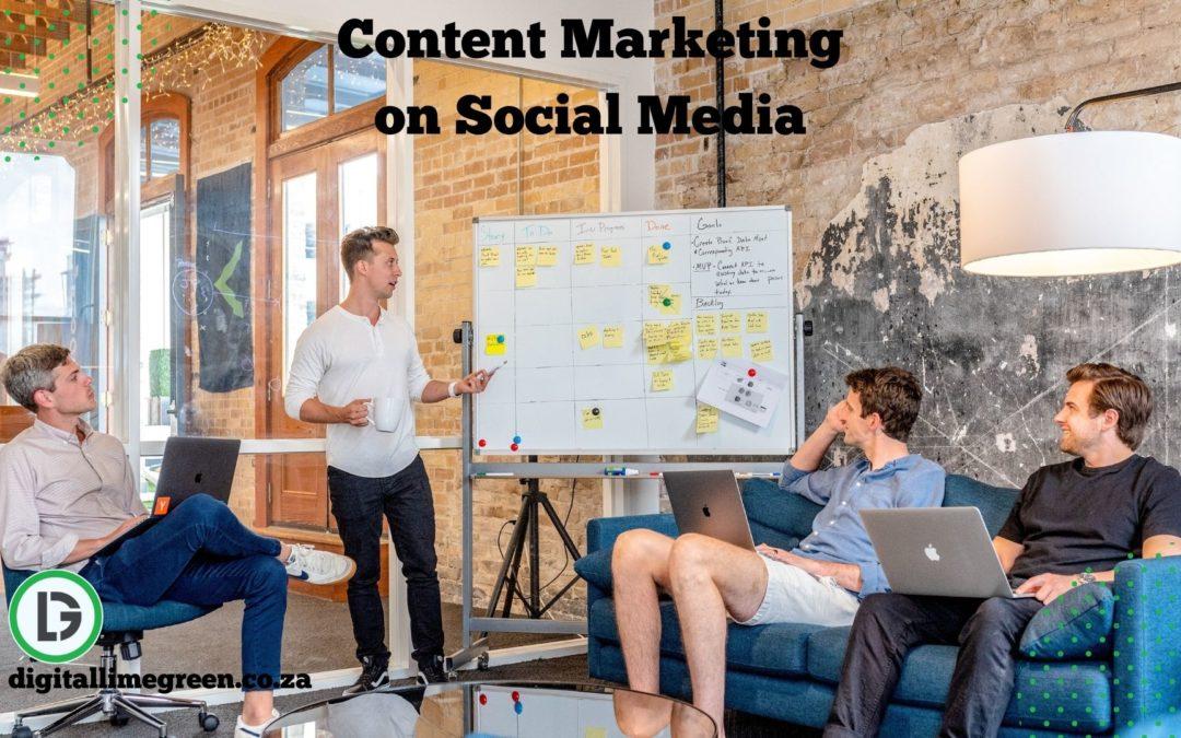 Content Marketing on Social Media